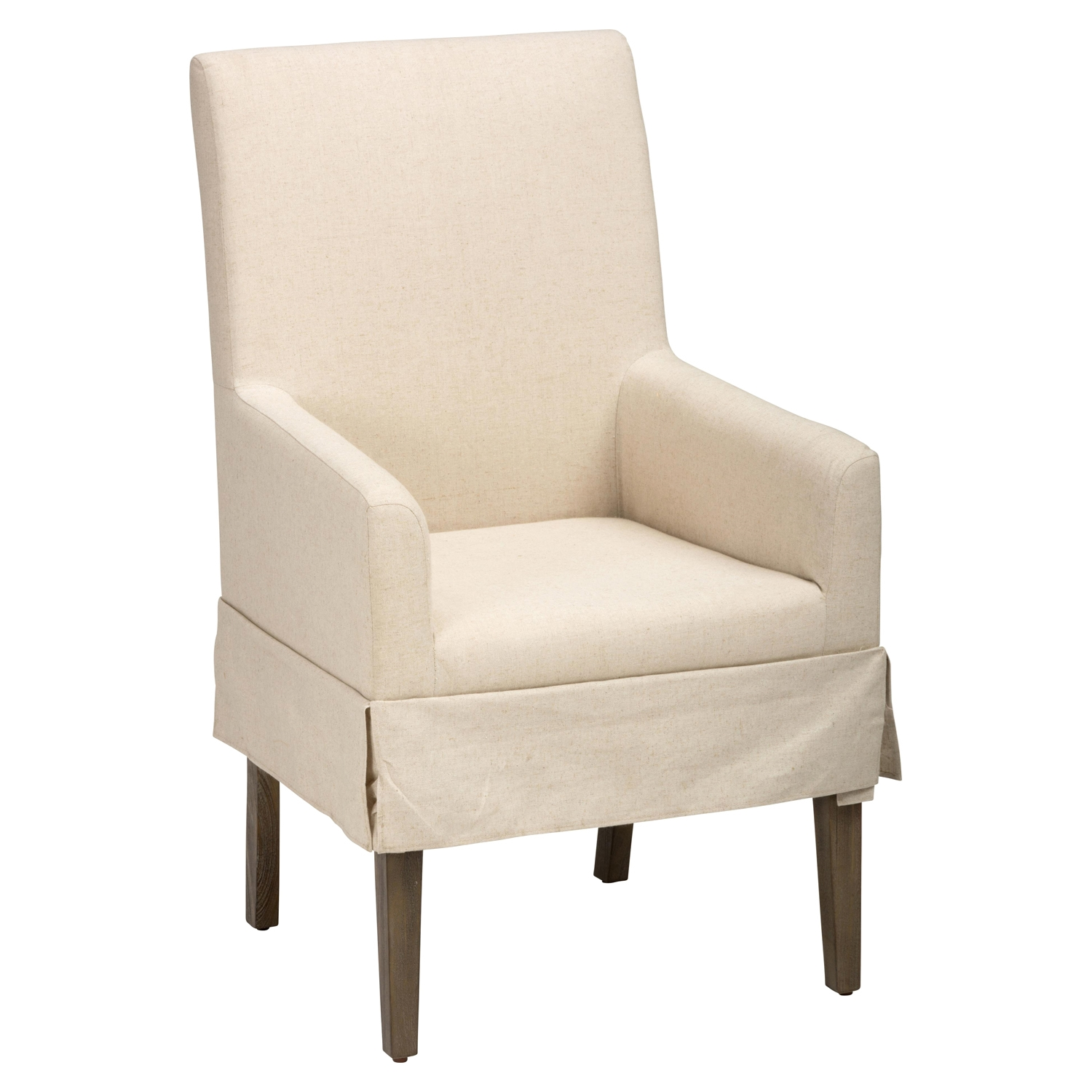 Hampton Slipcovered Dining Chair - Cream - JOFR-872-147KD