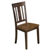 Kura Slat Back Dining Chair - Espresso and Canyon Gold - JOFR-875-265KD