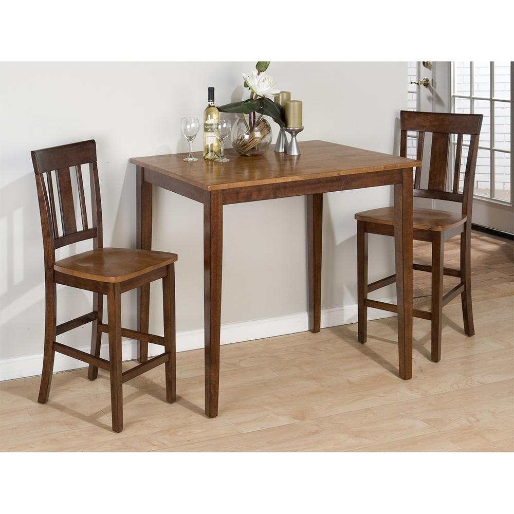 Kura Rectangular Counter Height Table Espresso And