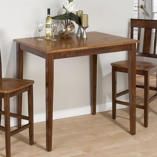 Counter Height Espresso Table : Kura Rectangular Counter Height Table - Espresso and Canyon Gold DCG ...