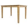 Turner's Landing 7 Pieces Dining Set - X Back Stools, Extension Table, Light Tobacco - JOFR-916-60-BSS222KD-SET