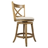 Turner's Landing X Back Swivel Stool - Light Tobacco - JOFR-916-BSS222KD
