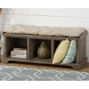 Slater Mill Pine Storage Bench - Brown - JOFR-940-14