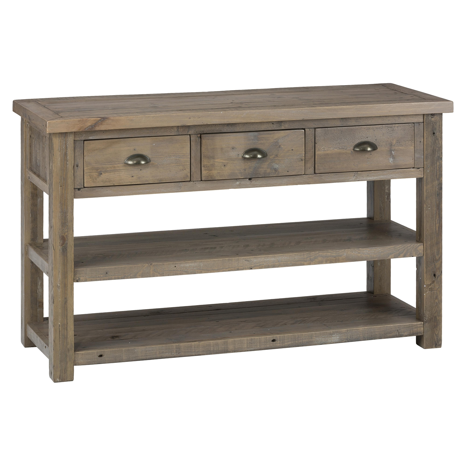 Slater Mill Sofa Table - Brown - JOFR-940-4