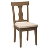 Slater Mill Reclaimed Pine Splat Back Dining Chair - Brown - JOFR-941-458KD