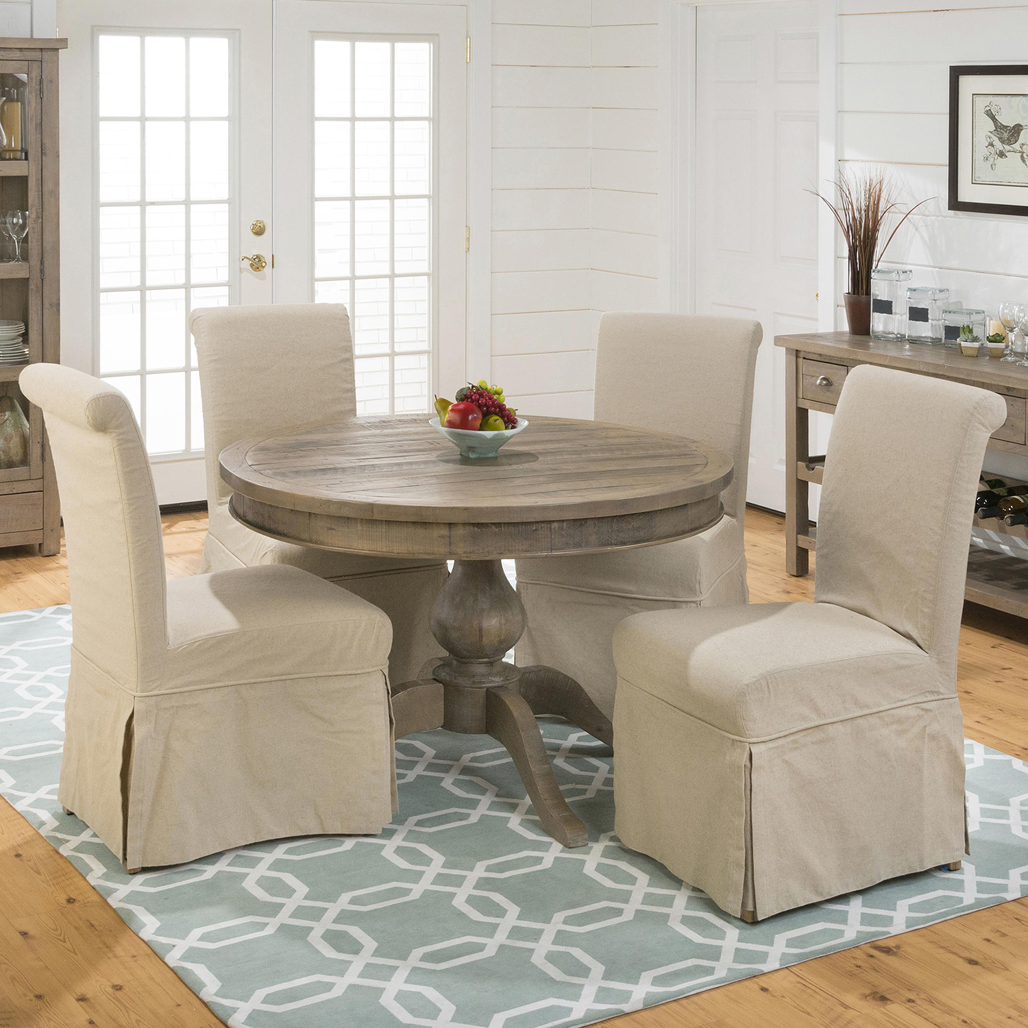 Slater Mill Slipcovered Parson Chair - JOFR-941-162KD
