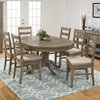Slater Mill 5 Pieces Extension Dining Set - Ladderback Chairs - JOFR-941-66TBKT-538KD-SET