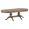 Slater Mill Double Pedestal Dining Table - Brown - JOFR-941-96TBKT