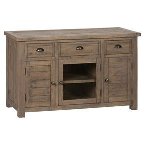 "Slater Mill Pine 50"" Media Unit - Brown"