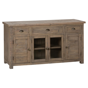 "Slater Mill Pine 60"" Media Unit - Brown"