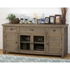 "Slater Mill Pine 70"" Media Unit - Brown - JOFR-942-70"