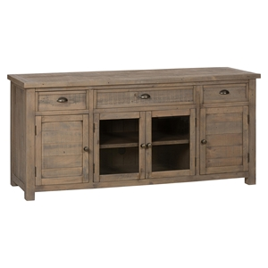"Slater Mill Pine 70"" Media Unit - Brown"