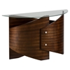 Waterville Demilune Sofa Table - Walnut - JOFR-956-4B4GKT