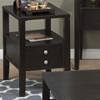 Hamilton Chairside Table - Espresso - JOFR-975-7