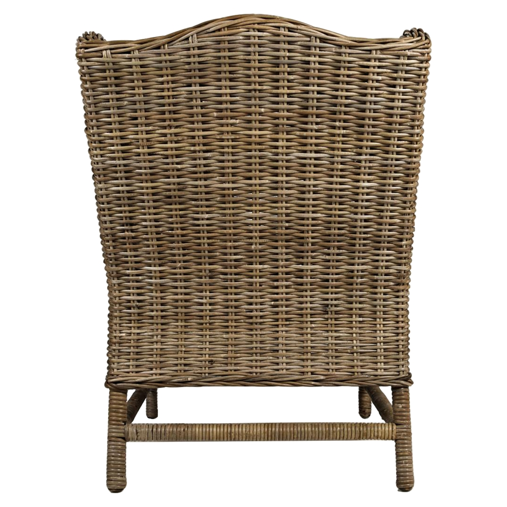 Beachcomber Kubu Rattan Accent Chair Dcg Stores