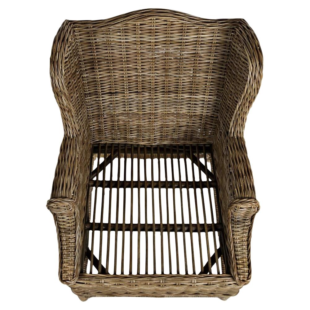 Beachcomber Kubu Rattan Accent Chair Dcg Stores