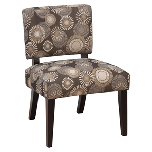 Bella Accent Chair - Brown Blast