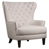 Conner Chair - Tufted, Wingback, Natural - JOFR-CONNER-CH-NATURAL