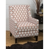Jeanie Nailhead Club Chair - Persimmon - JOFR-JEANIE-CH-PERS