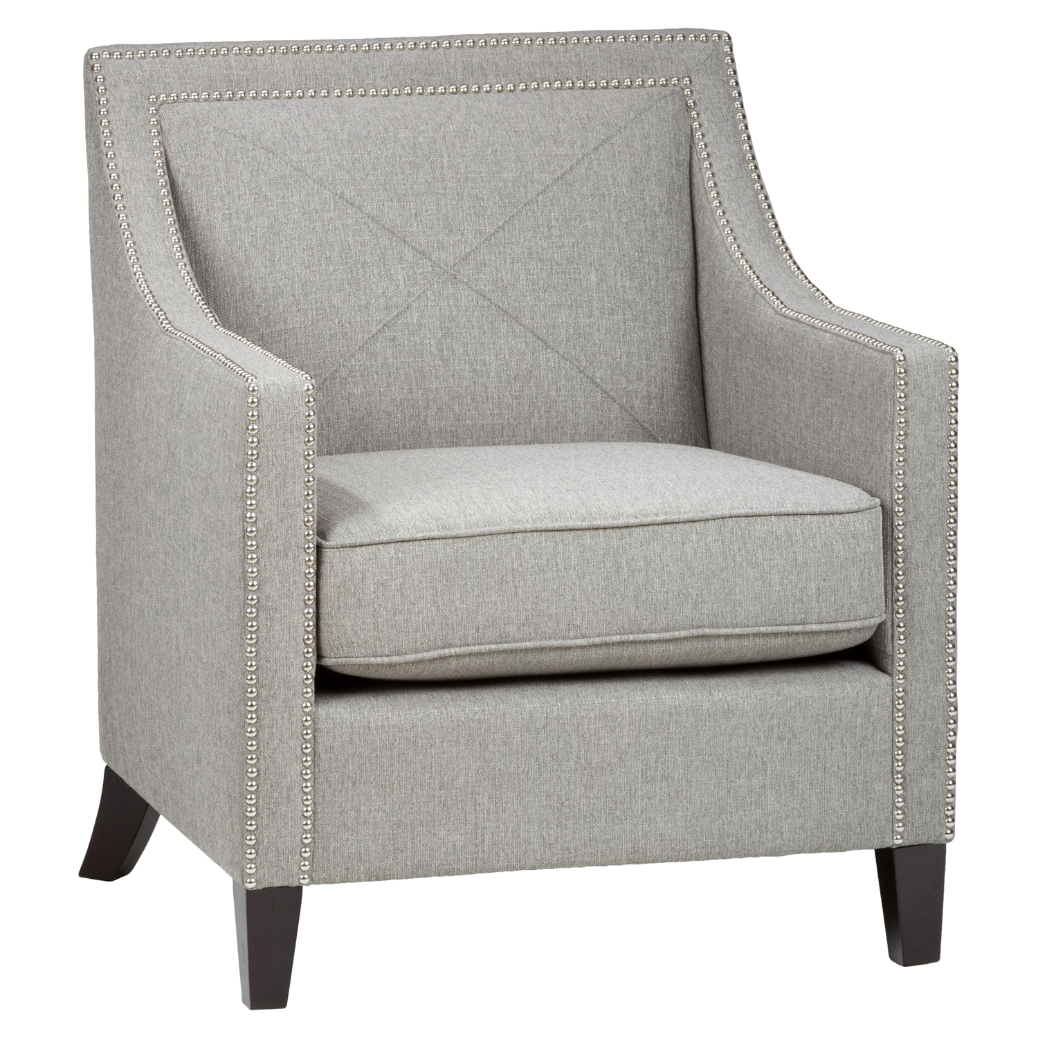 Luca Nailhead Club Chair - Ash - JOFR-LUCA-CH-ASH