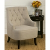 Stella Tufted Accent Chair - Natural - JOFR-STELLA-CH-NATURAL