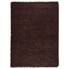 Ceres Hand Woven Wool Rug in Chocolate Brown - KMAT-2006-BROWN