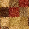 Daley Hand Woven Shaggy Rug in Beige and Brown - KMAT-2009-BEIGE-BROWN