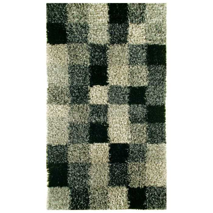 Daley Hand Woven Shaggy Rug in Grey - KMAT-2009-GREY