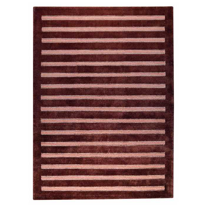 Dunstan Indo Tibetan Hand Knotted Rug in Brown