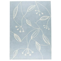 Helena Hand Tufted Wool Rug in Blue