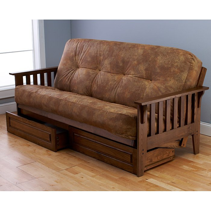 Kodiak full Size Oak Futon Drawers - KDF-OAK-FTN-DRWR