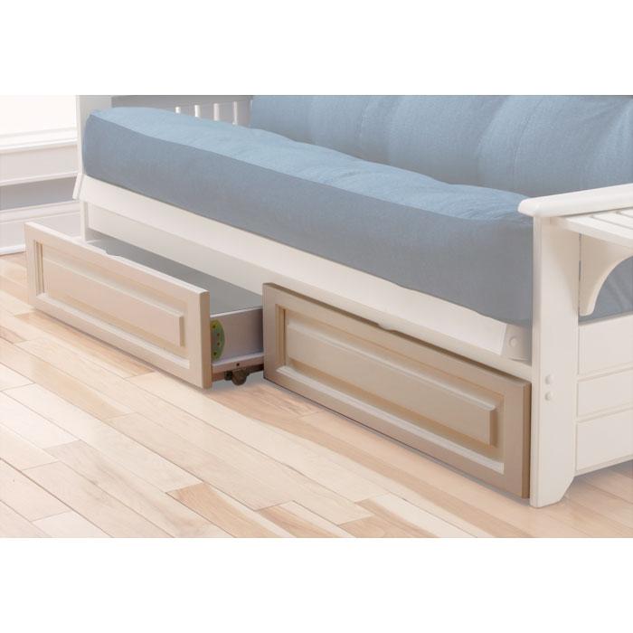 Kodiak Full Size Wood Futon Drawers Kdf Ftn Drwr
