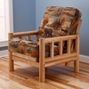 Lodge Chair Size Futon Set, Premium Cover - KDF-LDG-CH-SET-PRM