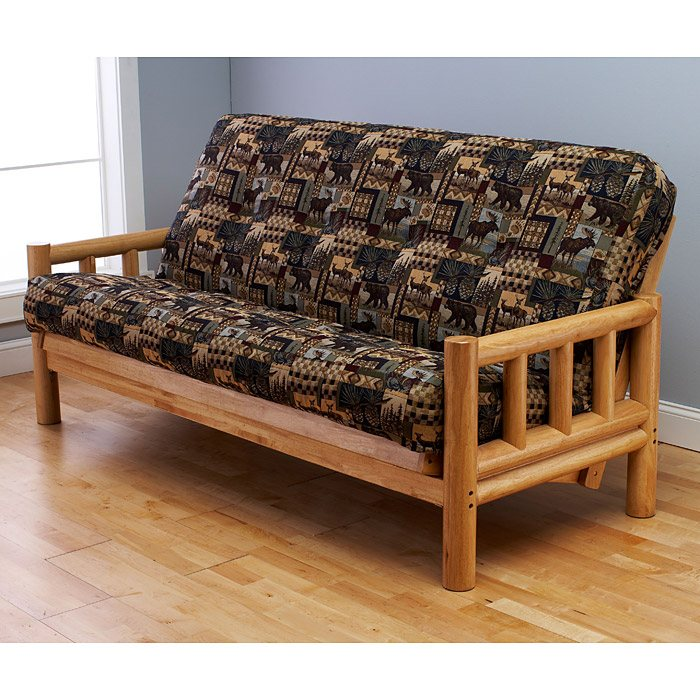 Lodge Complete Full Size Futon Set Premium Cover Dcg Stores