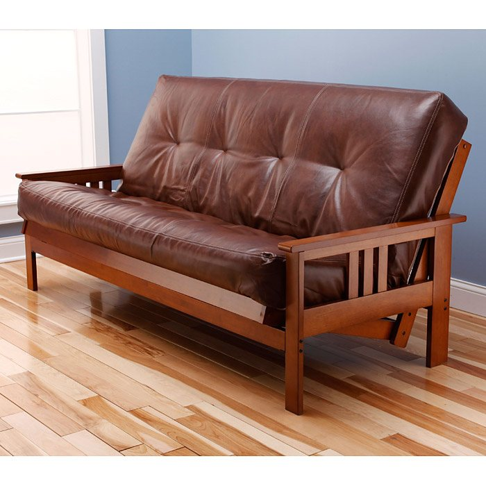 Medium image of     monterey full size wood futon frame   kdf mntry frm
