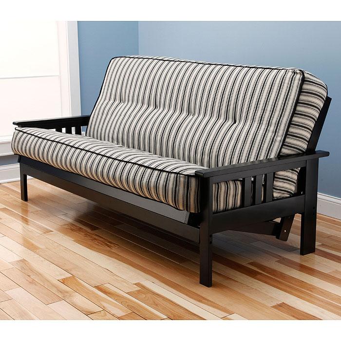 monterey full size wood futon frame kdfmntryfrm - Full Size Futon Mattress