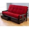 monterey full size wood futon frame kdf mntry frm