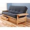 phoenix full size wood futon frame kdf phnx frm - Wood Futon Frames
