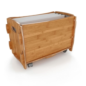 Sustainable Legal File Cart