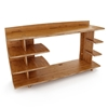Sustainable 43'' Straight Hutch - LEG-HTAO-110