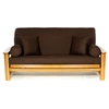 Brown Futon Cover - LSC-A-BROWN