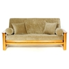 Gold Rust Futon Cover - Full Size - LSC-E-GOLD-RUST