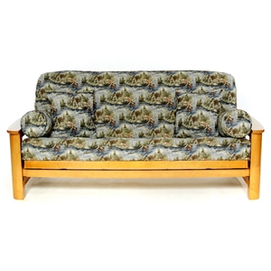 Gone Fishing Futon Cover