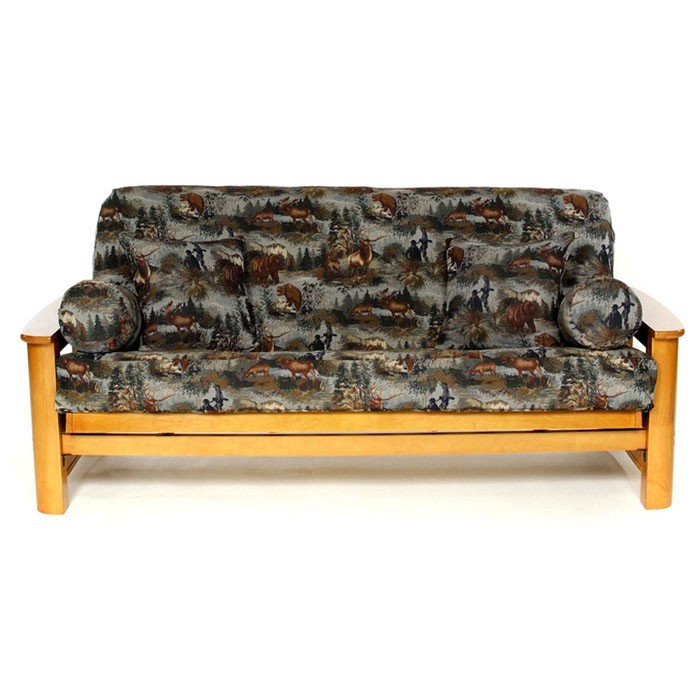 Gone Hunting Futon Cover - LSC-J-GONE-HUNTING