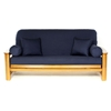 Navy Blue Futon Cover - Full Size - LSC-A-NAVY-BLUE