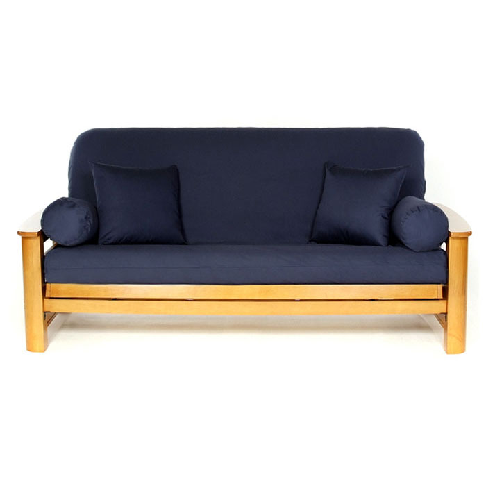 Navy Blue Futon Cover - LSC-A-NAVY-BLUE