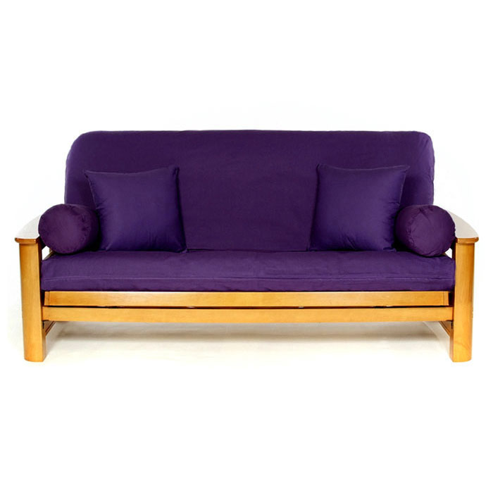 Purple Futon Cover - LSC-A-PURPLE