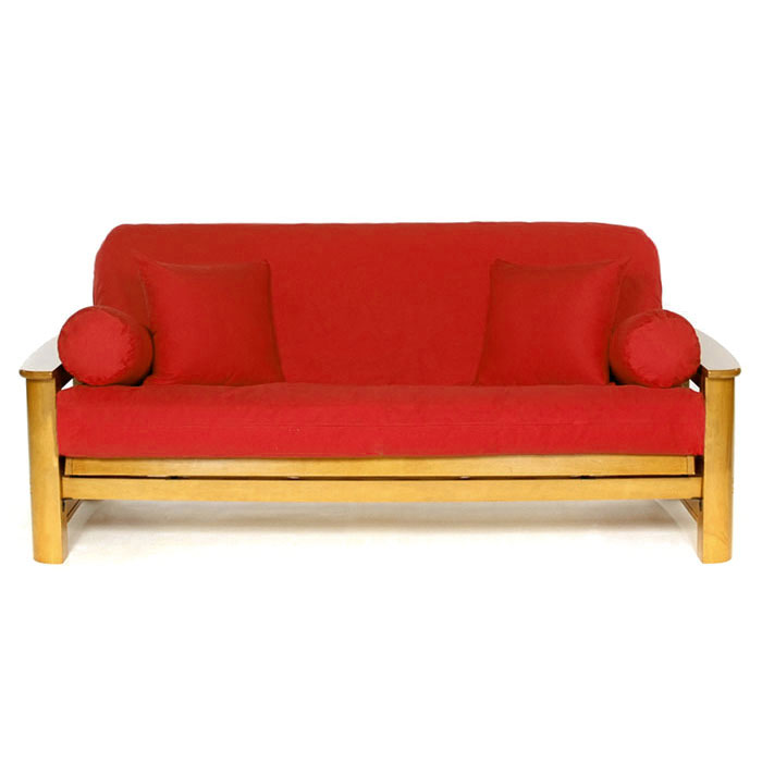 Red Futon Cover - LSC-A-RED