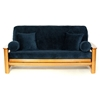 Sapphire Textured Futon Cover - Full Size - LSC-E-SAPPHIRE-TEXTURED