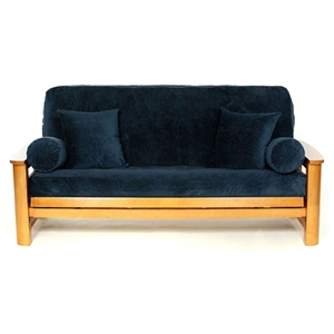 Sapphire Textured Futon Cover